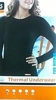 Женская термо кофта , черная, р. М,L,XL,2XL, Oztas, Турция