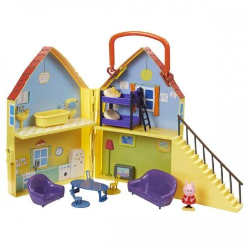 Игровой набор Peppa - ДОМ ПЕППЫ домик с мебелью фигурка Пеппы 20835