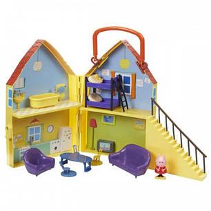 Игровой набор Peppa - ДОМ ПЕППЫ домик с мебелью фигурка Пеппы 20835, фото 2