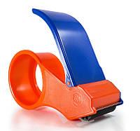Ленточный резак для упаковочного скотча, диспансер Tape Cutter dispenser с металлической обрезной кромкой