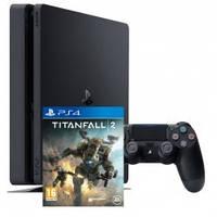 Приставка ps 4 slim 500gb + игра Titanfall 2