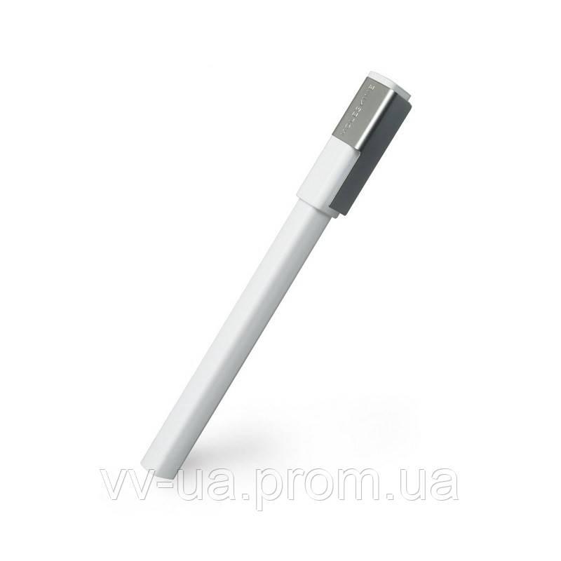 Ручка-роллер Moleskine Plus, белая (EW41WH07)