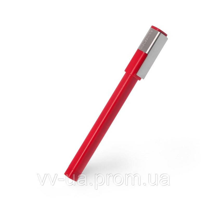 Ручка-роллер Moleskine Plus, красная (EW61RF907)