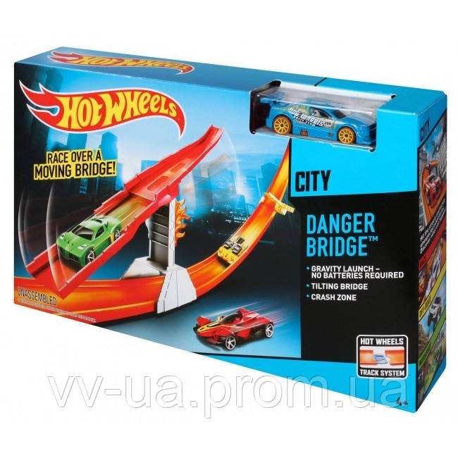 Трек Hot Wheels Спаси город