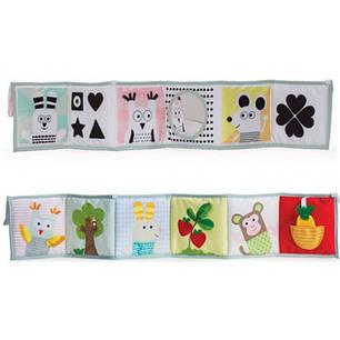 Развивающая книжка-раскладушка - МЫШКИ-МАРТЫШКИ  Taf Toys 12025, фото 2