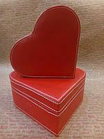 Шкатулка набор 2в1 Сердце