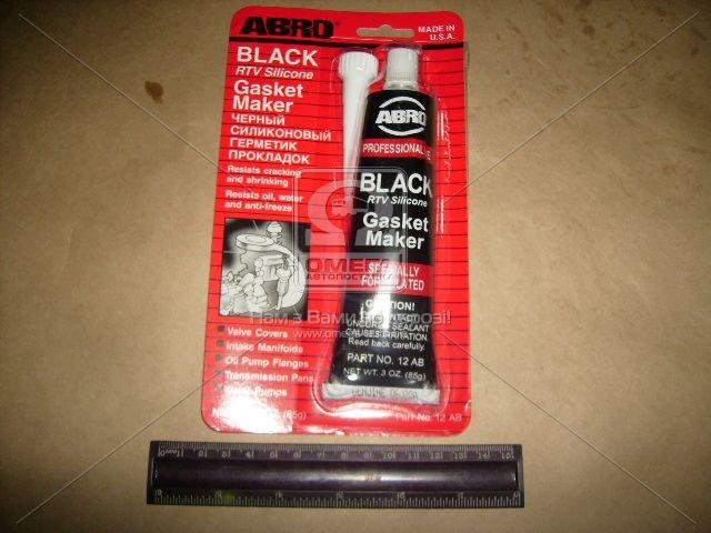 Герметик прокладок 85гр черный  (арт. 12-АВ), AAHZX