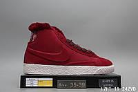 Кроссовки Nike зимние найк мужские женские реплика