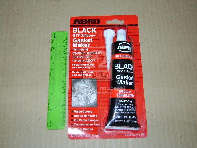 Герметик прокладок черный CH 85гр. ABRO (арт. 12-AB CH)