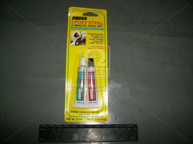 Клей эпоксидный 4 мин. 14,2гр ABRO (арт. ES-508)
