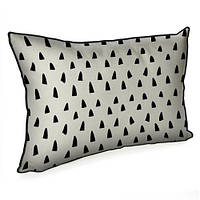 Подушка декоративная (мешковина) 45х32 (10 фото)