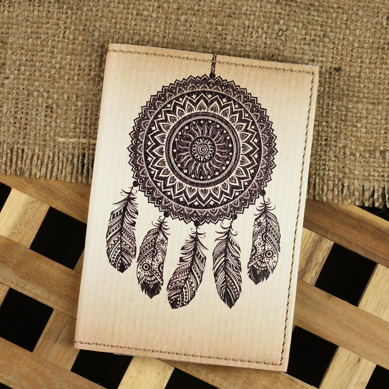 """Обложка для паспорта """"Ловец снов"""" + блокнотик"""