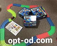 Светящийся гоночный Автотрек Magic Tracks с машинкой на 220 деталей оригинал