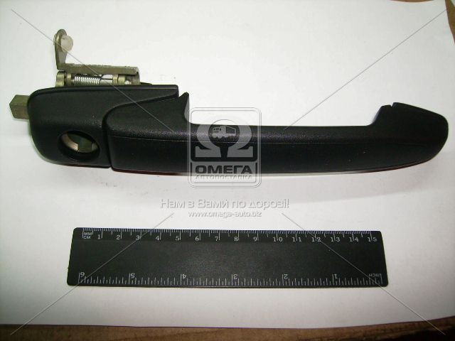 Ручка двери ВАЗ 1118 передняя правая наруж. (производство ДААЗ) (арт. 11180-610515000), ACHZX