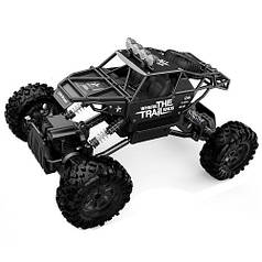Автомобиль OFF-ROAD CRAWLER на р/у – WHERE THE TRAIL ENDS (матов.черн., аккум.7.2V, мет.корпус,1:14)