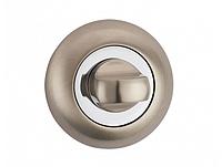 Поворотник под WC MVM T3 SN/CP (матовый никель/полированный хром)