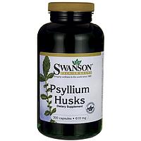 Клетчатка растворимая Psyllium Husk пребиотик, слабительное  610 мг 300 капс.