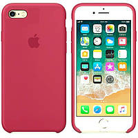 Чехол Apple Silicone Case для iPhone 6/6s - Rose Red