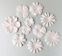 """Набор цветов """"белое ассорти"""" 10 шт., фото 1"""
