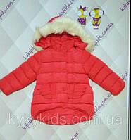 Зимняя куртка для девочки. (от 3 до 5 лет)