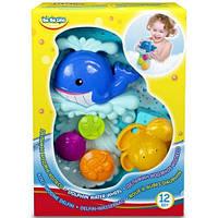 Игрушка для ванной Дельфин Водяное колесо, BeBeLino