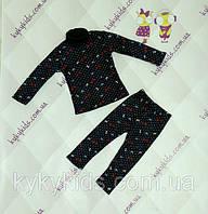 Теплый костюм для девочки (от 86 до 116)