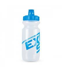 Фляга EXUSTAR BBW10 0.6л белая с голубой надписью