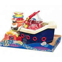 Ловись рыбка, набор для игры в ванной, 12 аксессуаров, Battat BX1012Z