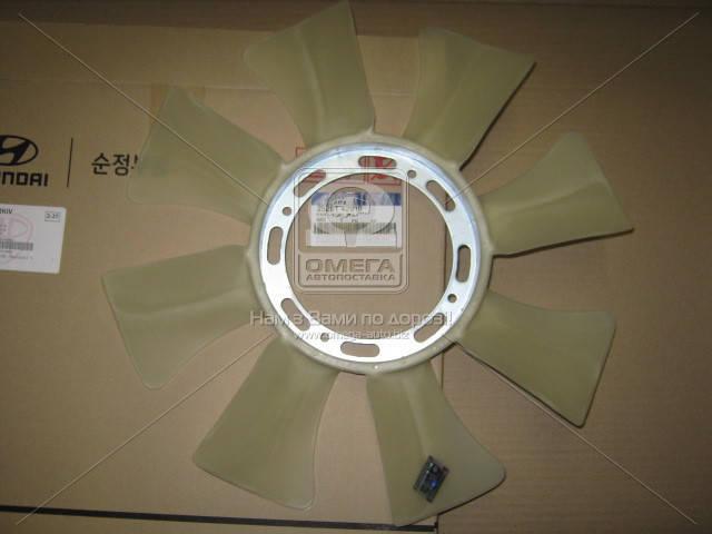 Крыльчатка вентилятора охлаждения (производство Mobis) (арт. 2526142910), ACHZX