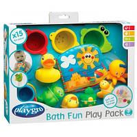 Игрушки для купания (15 элементов), подарочный набор, Playgro