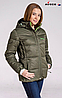 Женская лыжная куртка Avecs silver mustard