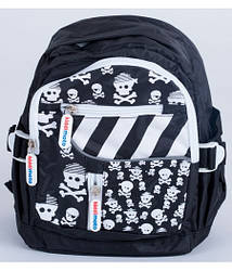Рюкзак детский KiddiMoto черепы, маленький, 2 - 5 лет