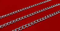 Цепь  декор.  10*7 мм  никель  №М269