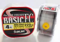 Флюорокарбон Sunline Basic FC 225м 0.33мм 4 16LB (1658.01.00)