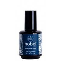 Гель-лак Нобель (Gel polish Nobel Deep ocean) - Глубокий океан (сине-бирюзовый)