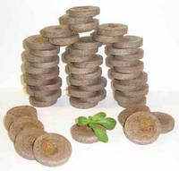 Торфяные таблетки Джиффи Cocos д 50 мм