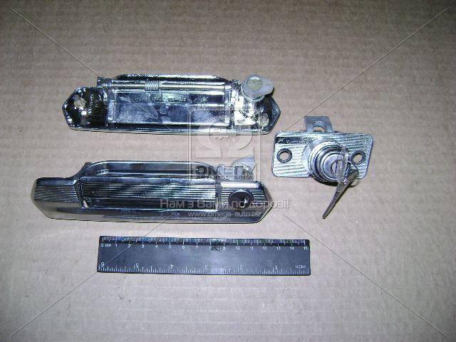 Личинка замка ВАЗ 2121 комплект (производство ДААЗ) (арт. 21210-610004010), ADHZX