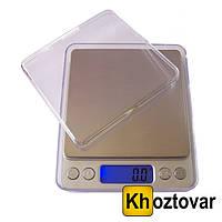 Цифровые ювелирные весы  Professional Digital Tabletop Scale 6295A 500г (0.01) +чаша