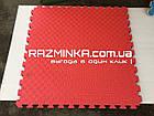 Татами для дзюдо 40мм (Турция), красно-синий , фото 4