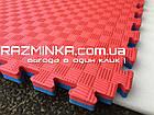 Татами для дзюдо 40мм (Турция), красно-синий , фото 3