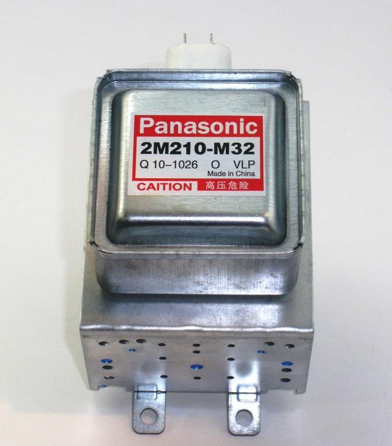 Магнетрон для микроволновой печи Panasonic 2M210-M32