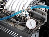 Проверка давления топливного насоса