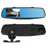 Зеркало регистратор с Двумя камерами DVR 138W 4`