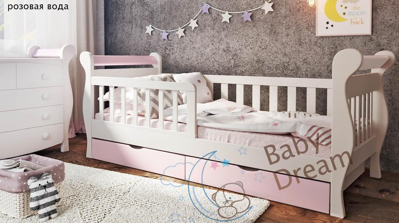Подростковая кровать для девочки Miss Secret с бортиками