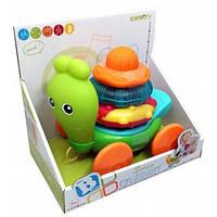 Развивающая игрушка-каталка Улитка, Sensory