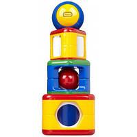 Пирамидка с шаром, развивающая игрушка, Tolo