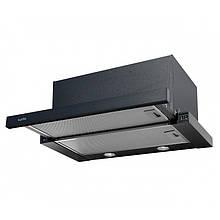 Витяжка для кухні чорна телескопічна VENTOLUX GARDA 60 BK (1000)