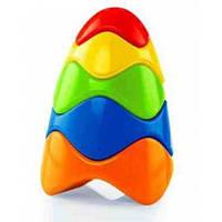 Красочная пирамидка, развивающая игрушка, OBall