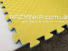 Татами пазл 20мм (Турция), сине-желтый, фото 4