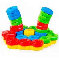 Игропазлы (39 элементов), развивающая игрушка, Тигрес